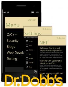 Dr  Dobb's Now Has Windows Phone App   UBM Technology Group
